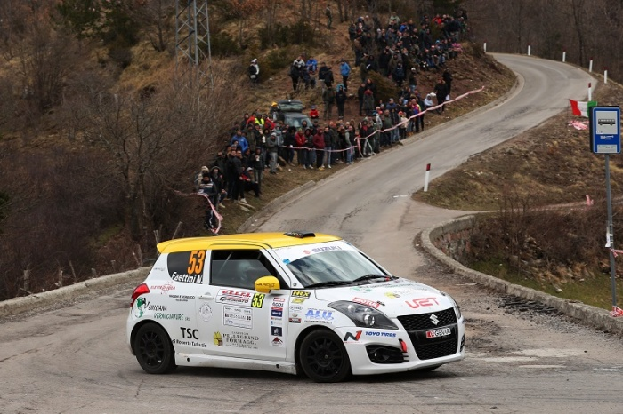 Rivia e Soliani-Guzzi tra i big dell'ouverture Suzuki Rally Cup 2019