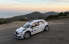 Michelin Rally Cup: all'Elba brinda Grani, bene pure Spagnoli e Giovanelli