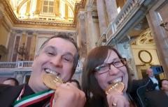 Alla Reggia di Caserta la consegna dell'Oscar tricolore delle Energie Alternative a Massimo Liverani