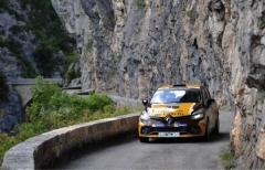 Trofei rally Renault 2018: si corre con pneumatici Michelin