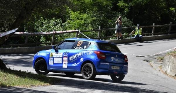 Rivia, al Due Valli riprenditi la vetta della Suzuki Rally Cup