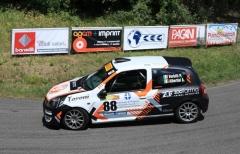Verbilli-Albertini (Publi Sport Racing) a Bassano con determinazione