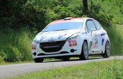 La sfortuna relega Bierremotosport al terzo posto di classe del rally Appennino Reggiano