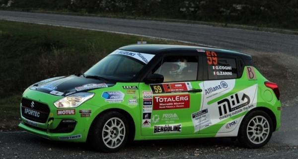 Suzuki Rally Trophy: al 2Valli la sesta sinfonia di Giorgio Cogni