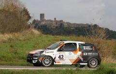 Publi Sport Racing padrona di gruppo N al Rally di Pomarance con Verbilli-Albertini