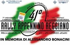 Già in cantiere il 41° Rally Appennino Reggiano: si correrà a fine marzo 2020