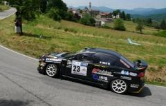 Marco Belli (GDA) all'appuntamento monzese con una Fiesta R5
