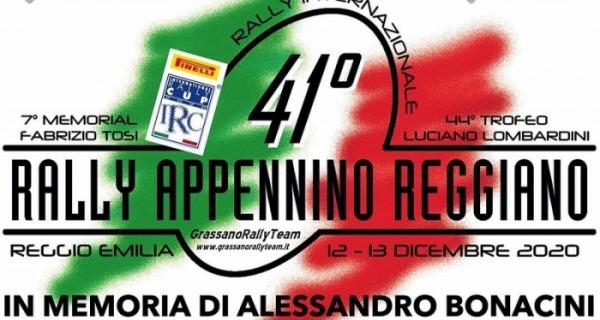 All'orizzonte il 41° Rally Appennino Reggiano: si correrà il 12 e 13 dicembre