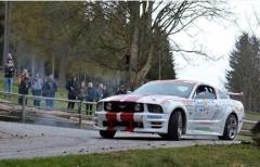 Ravaglioli (Top Driver) al via del Velenje, secondo round della Mitropa Cup