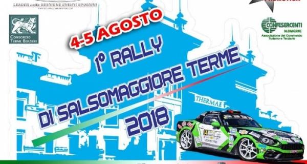 Due premi speciali in palio in occasione del 1° Rally di Salsomaggiore