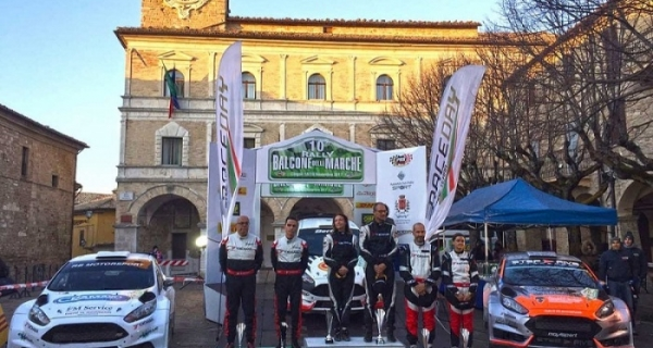 10° Balcone delle Marche a Ricci, Christian Marchioro-Dall'Olmo 6°, Bentivogli 2° di N, Vagnini re 2RM