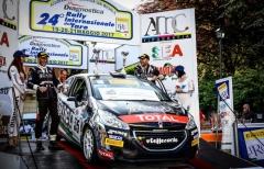 Trofeo Peugeot 208 IRC: Razzini-Marcomini insuperabili al Taro, tre emiliani davanti a tutti dopo due gare