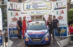 Trofeo 208 Rally, IRC: Leonardi-Spagnoli sugli scudi, Guglielmini-Giorgio nuovi leader
