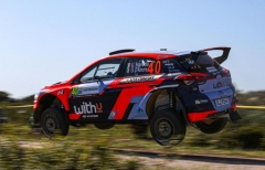 Movisport colleziona più luci che ombre al Rally d'Italia Sardegna