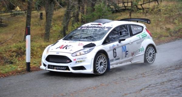 X-Race Sport nell'IRC con Marti-Bentivogli e la loro Fiesta GB Motors