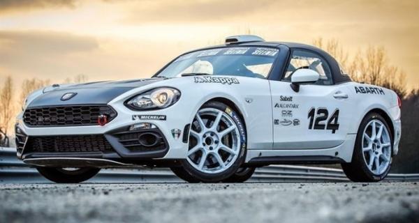 Tutto sul nuovissimo Trofeo Abarth 124 rally
