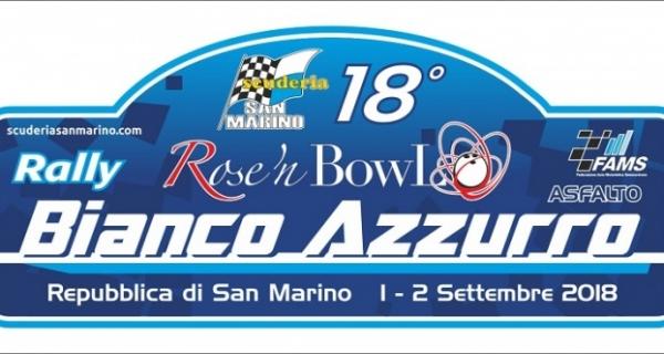 Il 18° Rally Bianco Azzurro ricollocato ad inizio settembre