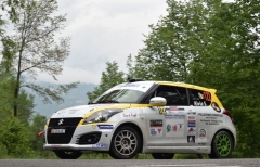 Suzuki Rally Cup, 1000 Miglia: Rivia batte anche Giove Pluvio, ottimo bronzo per Giorgio Cogni