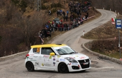 Rivia e Soliani-Guzzi tra i big dell'ouverture Suzuki Rally Cup 2019