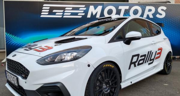 G.B. Motors presenta il primo esemplare 'tricolore' della Fiesta Rally3