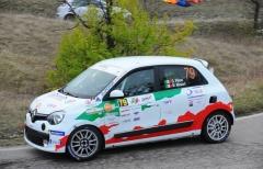 Trofeo Twingo R1 Internazionale: Pelosi-Guzzi ai piedi del podio al Piancavallo