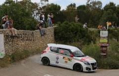 Soliani-Ferrari subito secondi al rientro nella Suzuki Rally Cup, 'Cerutti Gino' quarto