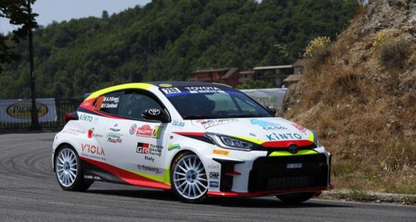 GR Yaris Rally Cup: Grossi impressiona all'esordio, Rivia sesto