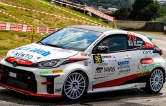 Collecchio Corse sul podio della GR Yaris Rally Cup
