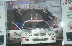 Vittorie di classe per Basenghi e Foracchia (Best Racing Team) al Monte caio