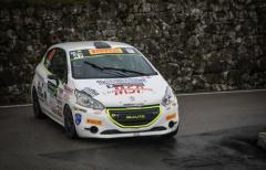 Trofeo 208 Rally Cup Pro: Zorra-Carbognani e Gubertini-Ialungo sul podio del Casentino