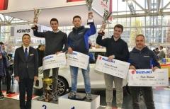 Dalmazzini vince anche il Trofeo Suzuki al Motor Show, Rivia e Cogni premiati per l'uno-due nella Rally Cup