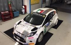Davide Medici a Como con una Fiesta WRC per bissare la bella prova reggiana