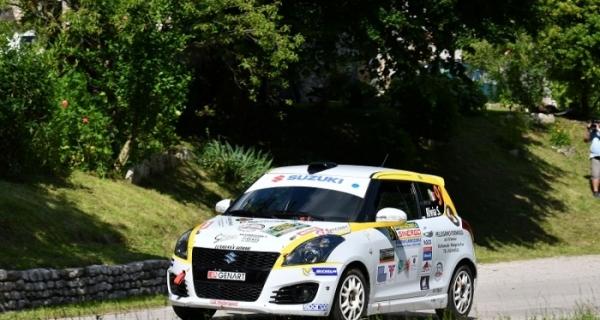 Suzuki Rally Cup, Marca: Rivia sfiora il successo, Soliani e Cogni lo seguono
