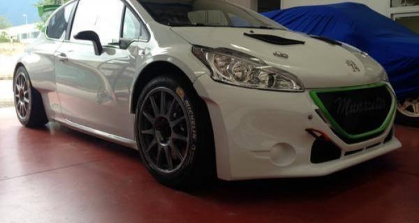 Carella-Bracchi nell'Italiano WRC con una 208 R5 by Munaretto