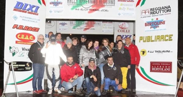 Grassano Rally Team annuncia che l'Appennino Reggiano resterà nel 2017 rally Nazionale